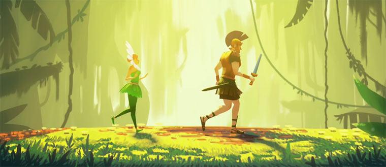 Animated Short: Azúl