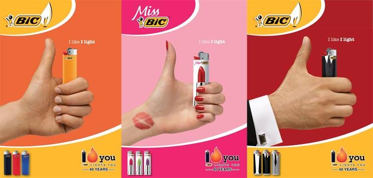 I like I light: der BIC Feuerzeugdesign-Wettbewerb