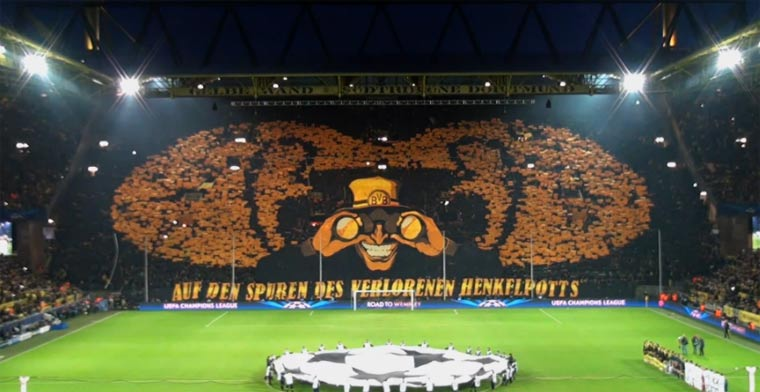 BVB – Malaga // Making of Fan-Choreo