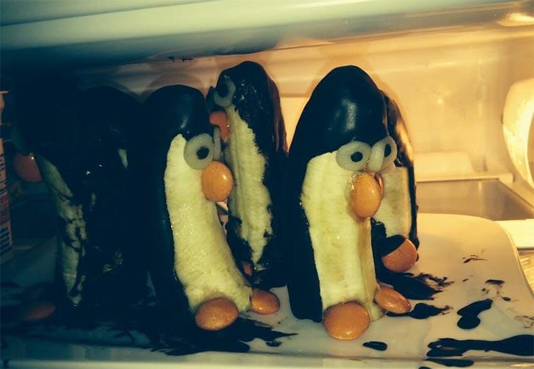 Bananen-Schokoladen-Pinguine Bananen-Pinguine_02