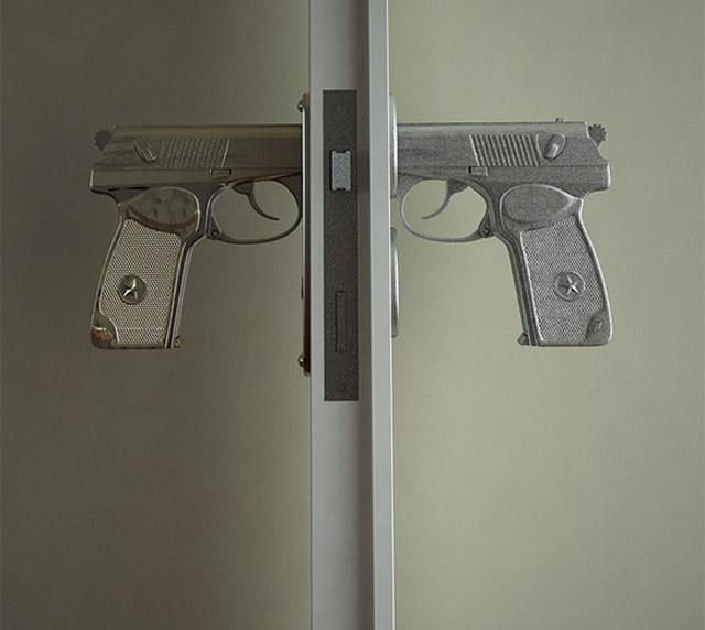 Für diese Tür brauchst du einen Waffenschein