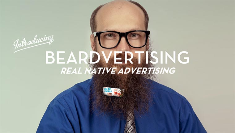 Werbung mit Bart – Beardvertising