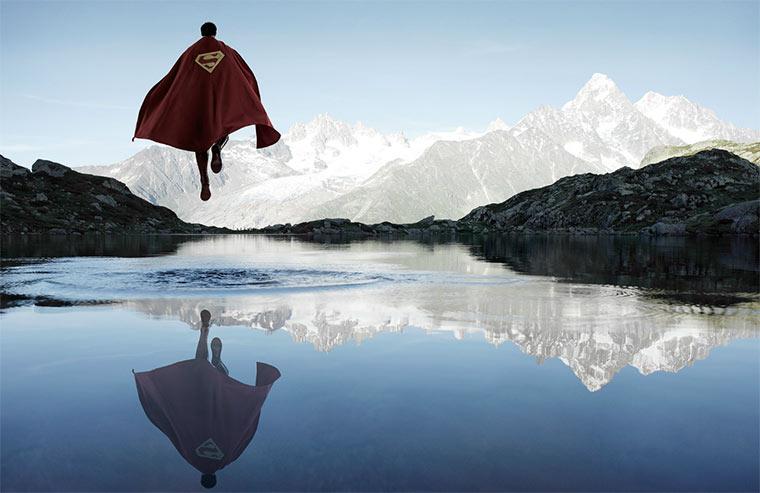 Superhelden in freier Wildbahn