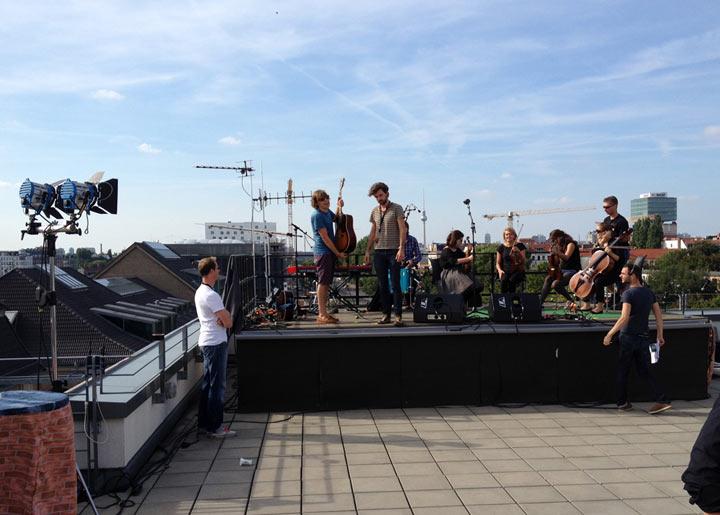 Musikalisches Wochenende 2: Auf den Dächern Festival