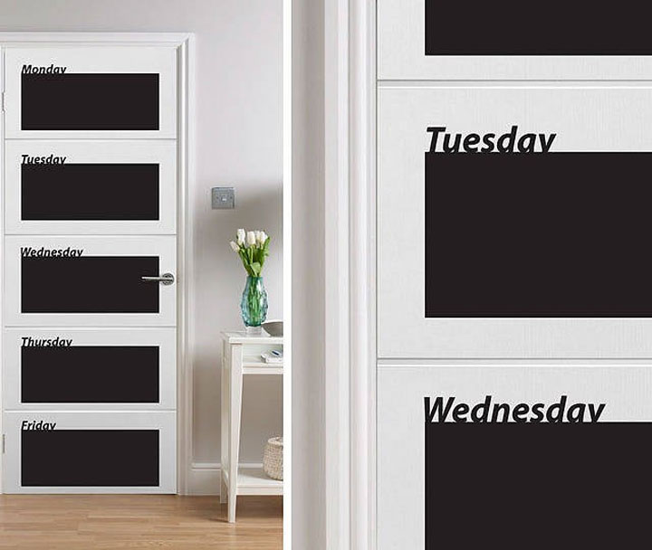 Blackboard Door Planner