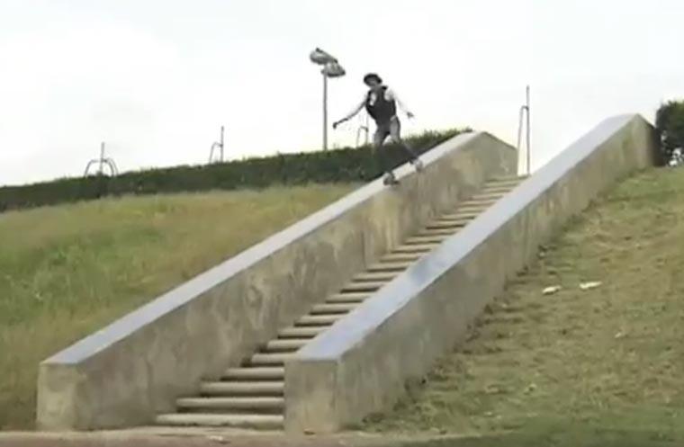 Skateboarding: 50-Stufen an einem Tag