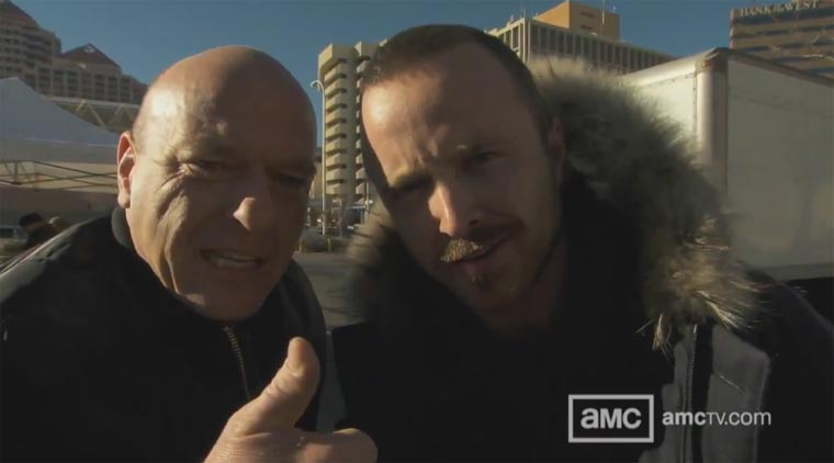 Breaking Bad: Am Set der finalen 8 Folgen