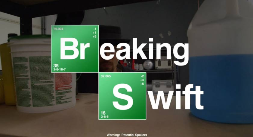 Breaking Swift – We Are Never Ever Gonna Cook Together