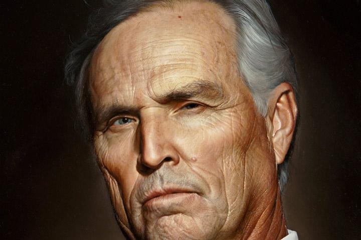 Malerei: Realistische Portraits von Bryan Drury