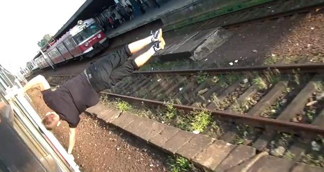 privater Jahresrückblick: Grafitti-Parcour-Turn-Krams