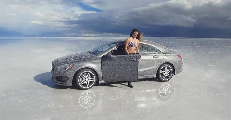 Casey Neistats planloser Mercedes-Spot