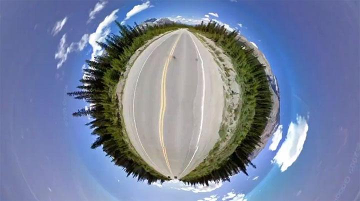 Die Welt ganz klein: Chemin Vert