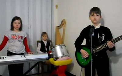 Children_band_cover_rammstein_sonne