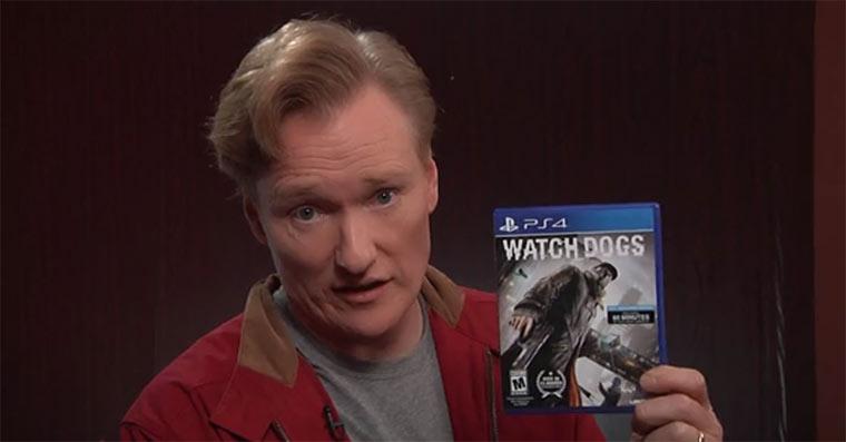 Conan spielt Watch Dogs