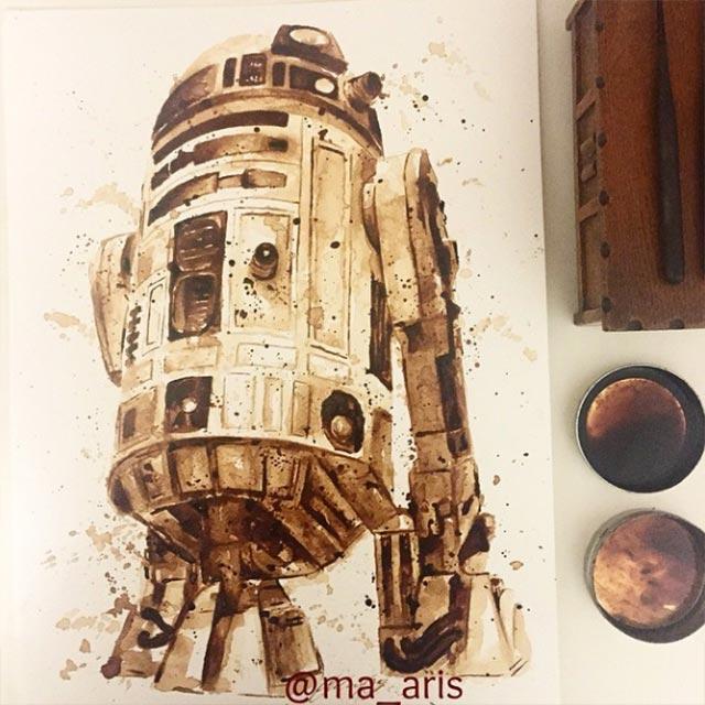 Gemälde aus Kaffee Coffee-drawings_03