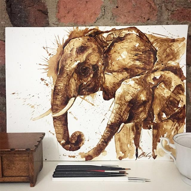 Gemälde aus Kaffee Coffee-drawings_04