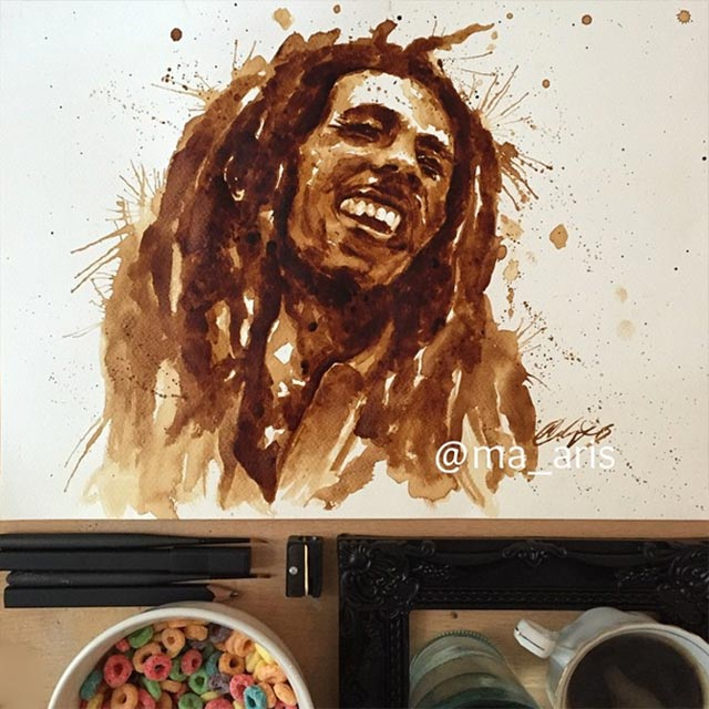 Gemälde aus Kaffee Coffee-drawings_05