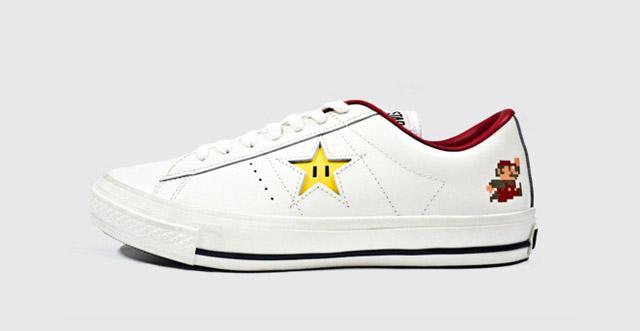 Sneaker: Super Mario Converse