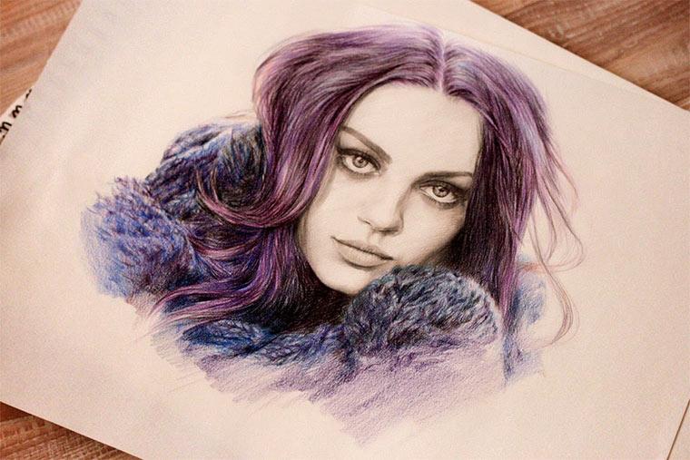 Zeichnungen: Nadia Coolrista
