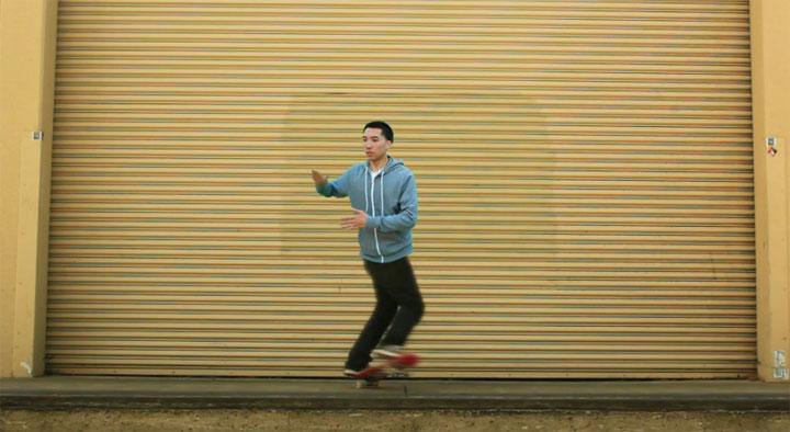 Dancing Skateboarder