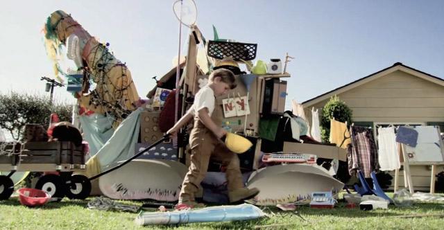 Göttlicher Kurzfilm: Die Gartenkindermaschine