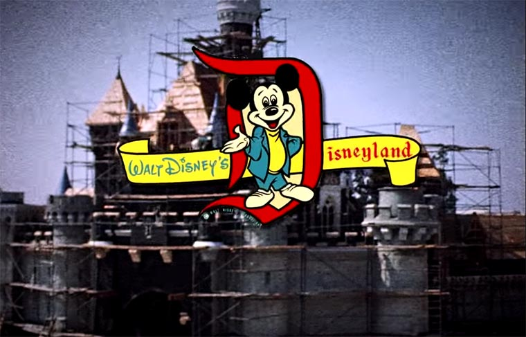 Disneyland: Timelapse von 1955