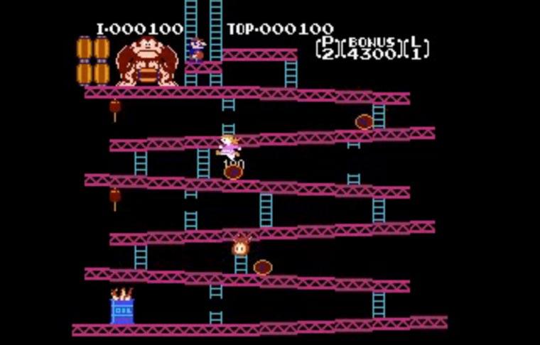 Vater hackt Donkey Kong für seine Tochter