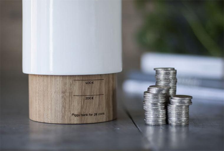 Spardosen-Design: Dos Pavos