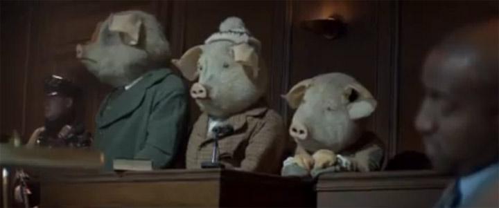Die 3 kleinen Schweinchen und das Internet