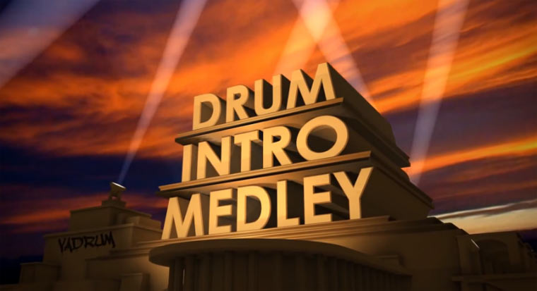 50 Schlagzeugintros in unter 6 Minuten