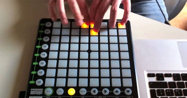 Live-Dubstep auf dem Novation Launchpad