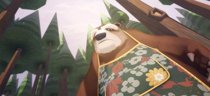 Römischer Bote vs. Bär