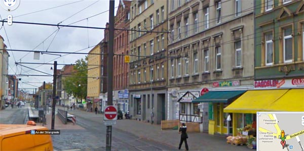 Mein Haus in Streetview