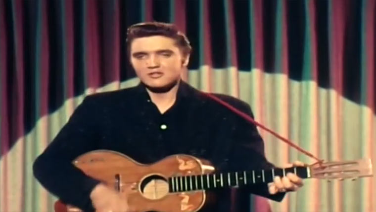 Elvis – Blue Suede Shoes ohne Musik