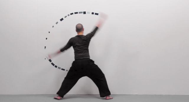 ästhetische Stopmotion-Tanz-Kampfkunst