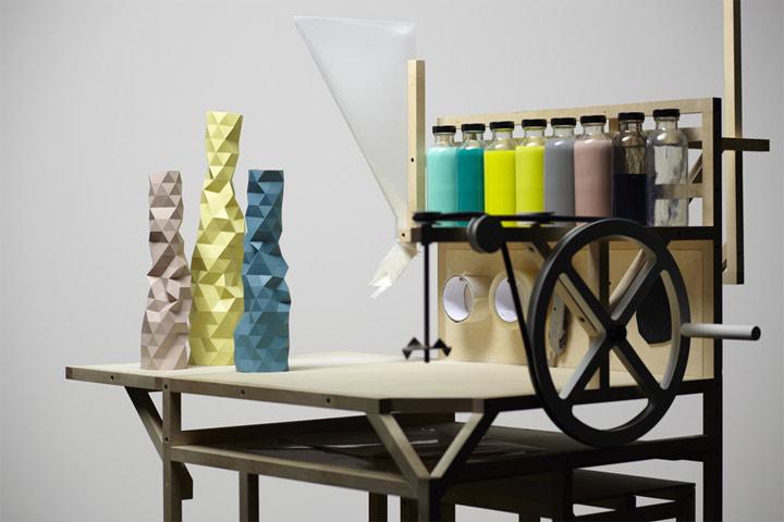 Stylisch für die Bude: geometrical vases