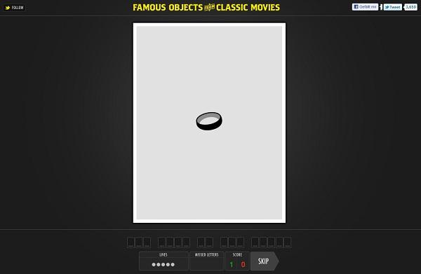 Filme anhand einzelner Gegenstände erraten