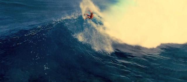 Blau, blau, blau blüht die Surferwelle