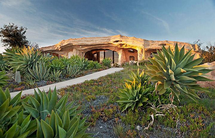 Architektur: Real Life Flintstones-Haus