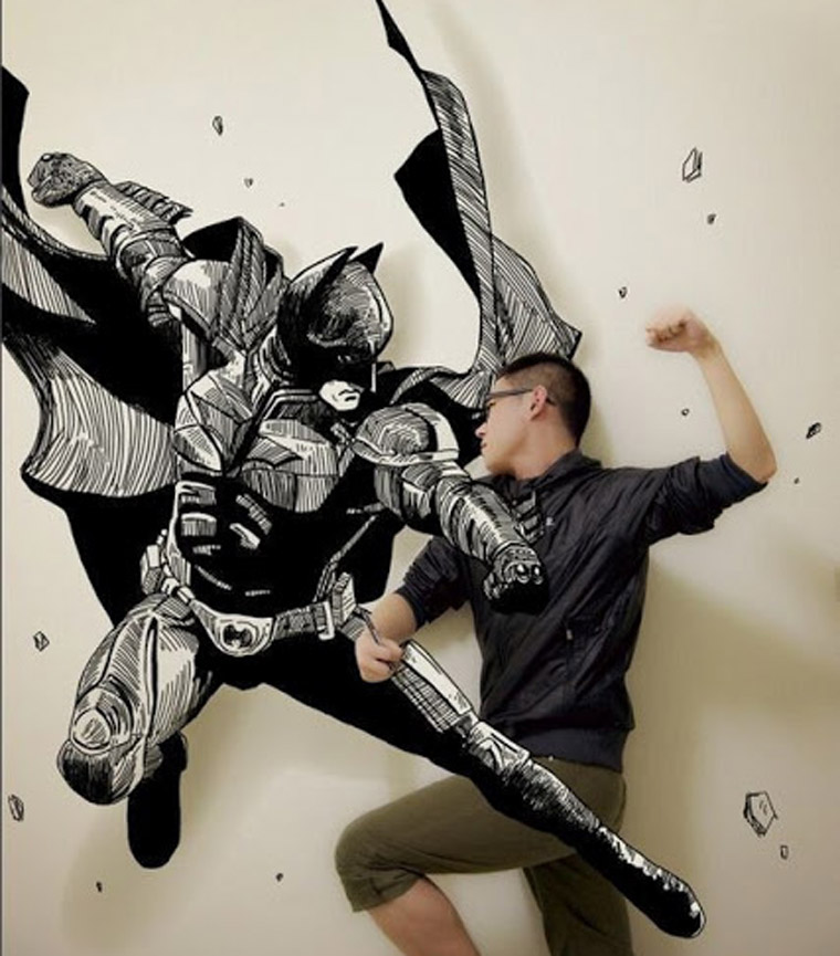 Illustration: Manga-Anime-Interaktion mit Gaikuo Captain