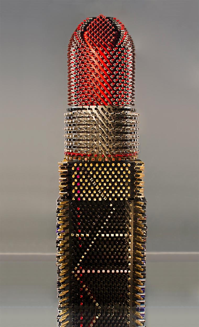 Lippenstift aus 5.000 Lippenstiften Giant-Lipstick_04