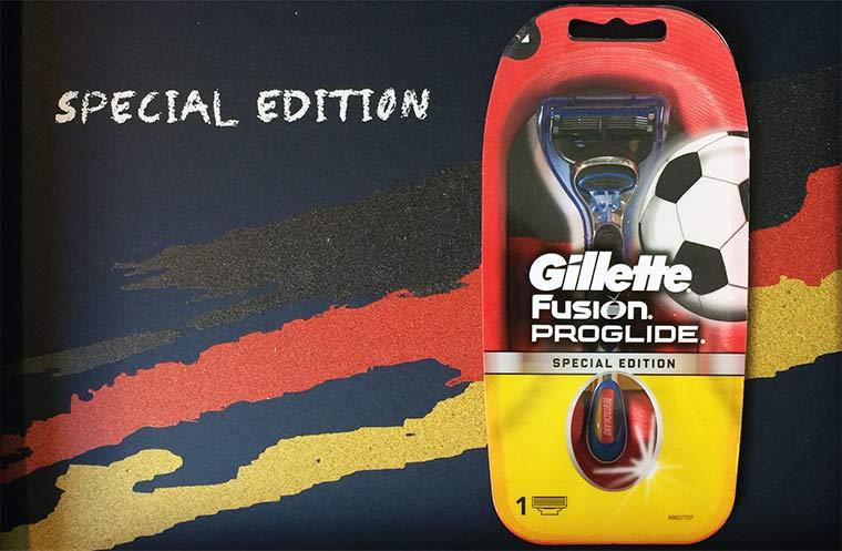 Gillette Ländereditionen