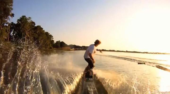 GoPro-Surf-Fun: Ride the Wake