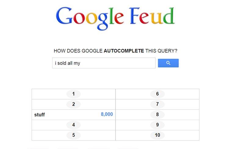 Autovervollständigung á la Familienduell Google-Feud