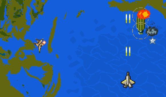 HAWX 2 8-Bit Topdown Flightshooter
