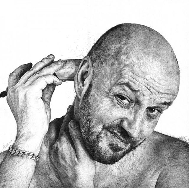 realistische Zeichnungen: Heikki Leis