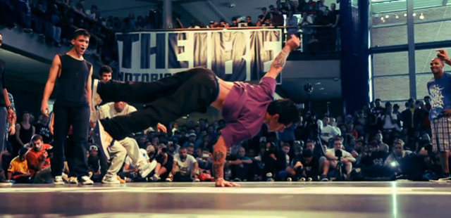 Breakdance deluxe: The Notorious IBE 2011