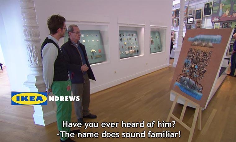 Test: IKEA-Kunstdruck im Museum Ike_Andrews
