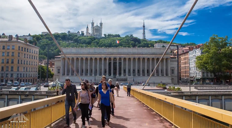 Timelapse: In Lyon