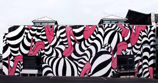 Animiertes Riesen-Grafitti